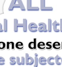 Repeal all Mental Health Acts Sticker