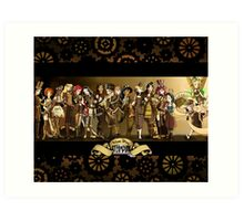 All Steampunk Disney Princess Art Print
