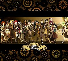 All Steampunk Disney Princess by Kurostars