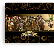 All Steampunk Disney Princess Canvas Print