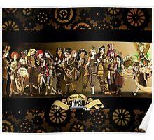 All Steampunk Disney Princess Poster