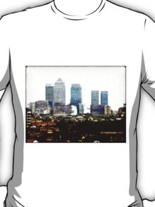 Canary Wharf Skyline T-Shirt