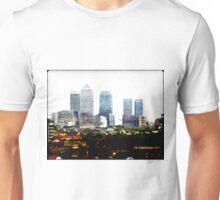 Canary Wharf Skyline Unisex T-Shirt