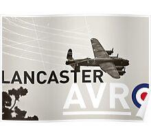Lancaster AVR Poster