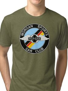 Morgan Sports Car Club Germany Colors Tri-blend T-Shirt