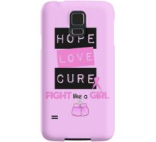 Hope Love Cure Samsung Galaxy Case/Skin
