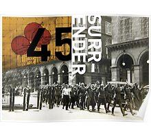 Surrender 45 Poster