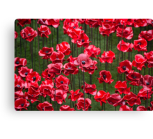 Blood Swept Lands and Seas of Red' Canvas Print