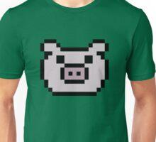 Pig (8-bit / 16-bit / Pixelated) Unisex T-Shirt