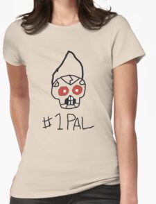 Robichris #1 Pal [RED EYES] Womens Fitted T-Shirt