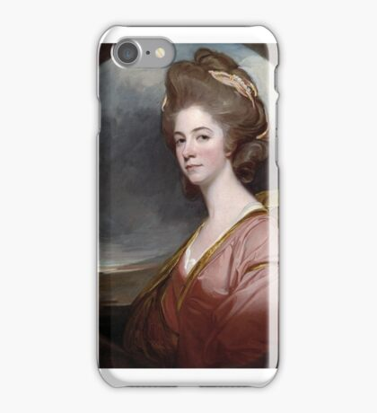 George Romney    Lady Emilia Kerr iPhone Case/Skin