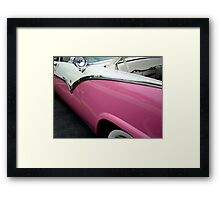 Female View at a Car Show -9 (aka GIRLIECAR)  ^ Framed Print