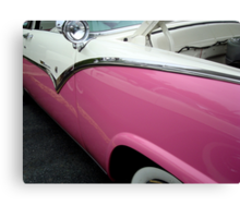 Female View at a Car Show -9 (aka GIRLIECAR)  ^ Canvas Print