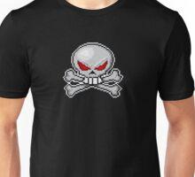 8 bit skull? Unisex T-Shirt
