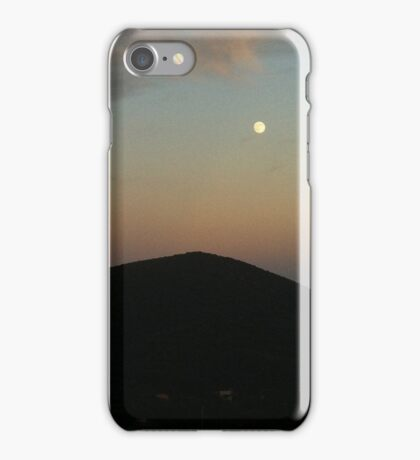 Moonrise in Tuscany iPhone Case/Skin