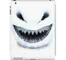 Doctor Who - Evil Snowman iPad Case/Skin