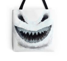Doctor Who - Evil Snowman Tote Bag