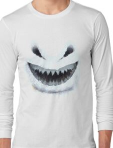 Doctor Who - Evil Snowman Long Sleeve T-Shirt