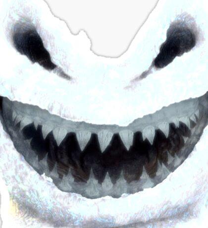 Doctor Who - Evil Snowman Sticker