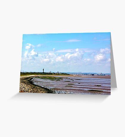 Humber Estuary Greeting Card