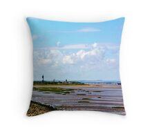 Humber Estuary Throw Pillow