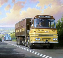 Frank Tucker's ERF by Mike Jeffries