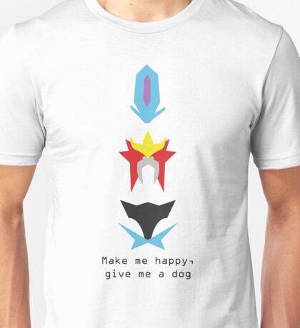 Poke dogs Unisex T-Shirt