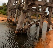Kilcunda Trestle Bridge by DavidsArt