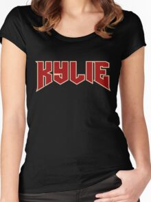 Kylie Jenner Women's Fitted Scoop T-Shirt