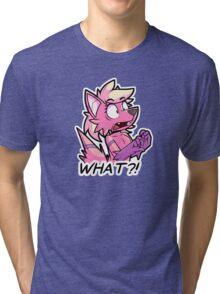 WHAT?! Tri-blend T-Shirt