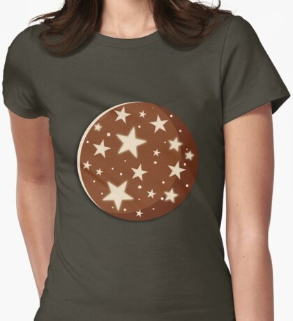 Pan di Stelle Cookies  Womens Fitted T-Shirt