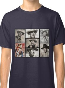 Classic Hollywood Cowboys Classic T-Shirt