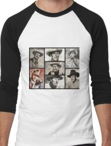 Classic Hollywood Cowboys Men's Baseball ¾ T-Shirt