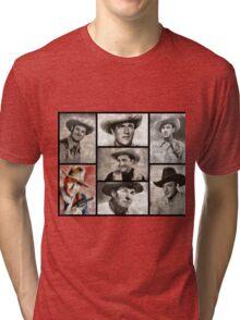 Classic Hollywood Cowboys Tri-blend T-Shirt