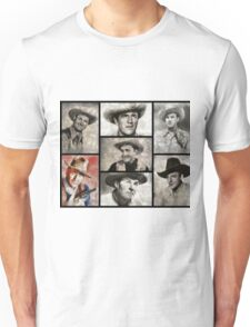 Classic Hollywood Cowboys Unisex T-Shirt