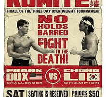 Kumite by ronin47design