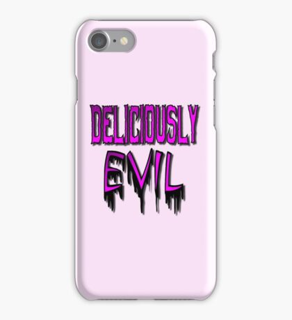 Deliciously Evil iPhone Case/Skin