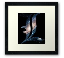 Spacey L Framed Print