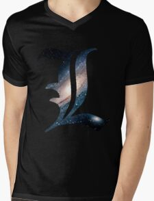 Spacey L Mens V-Neck T-Shirt