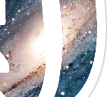 Spacey L Sticker