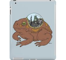 Cricket and Robot Toad iPad Case/Skin
