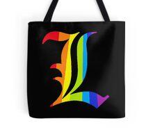Rainbow L Tote Bag