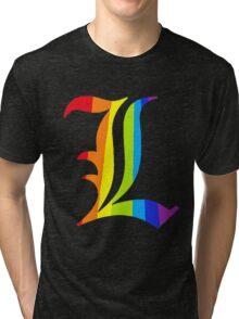 Rainbow L Tri-blend T-Shirt