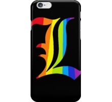 Rainbow L iPhone Case/Skin