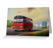 Midland Red M1 express Greeting Card