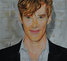 Benedict Cumberbatch- Coloured portrait by Srish Nair