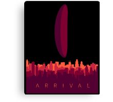 Arrival Movie Canvas Print
