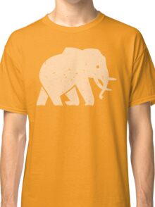 Elephant Baby Safari in Savanna Casual Classic T-Shirt