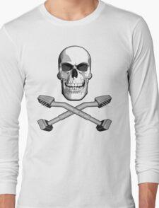 Carpet Installer Skull Long Sleeve T-Shirt