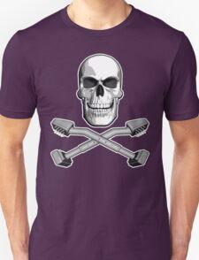 Carpet Installer Skull T-Shirt